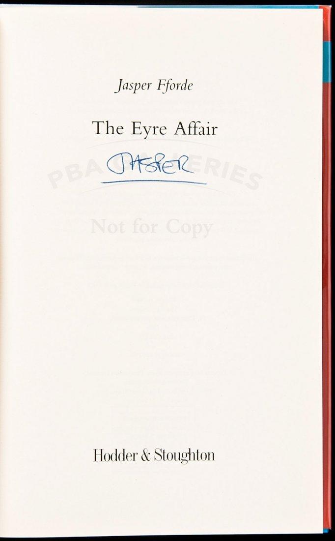 128: Jasper Ford Eyre Affair signed