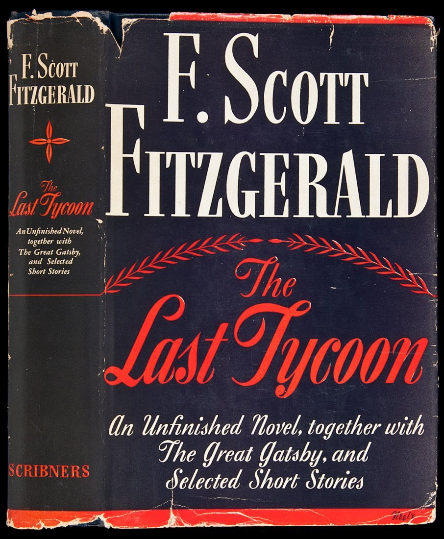 129: Fitzgerald Last Tycoon first edition in jacket