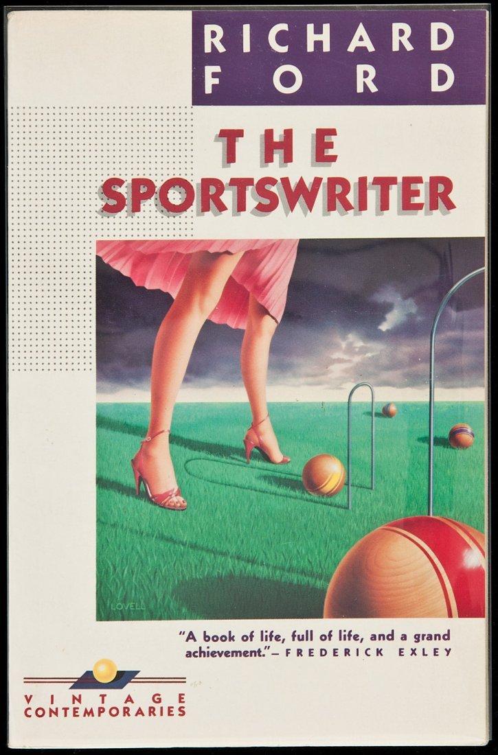 135: Richard Ford Sportswriter signed