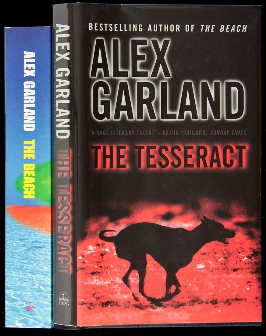 142: Two titles by Alex Garland, both signed