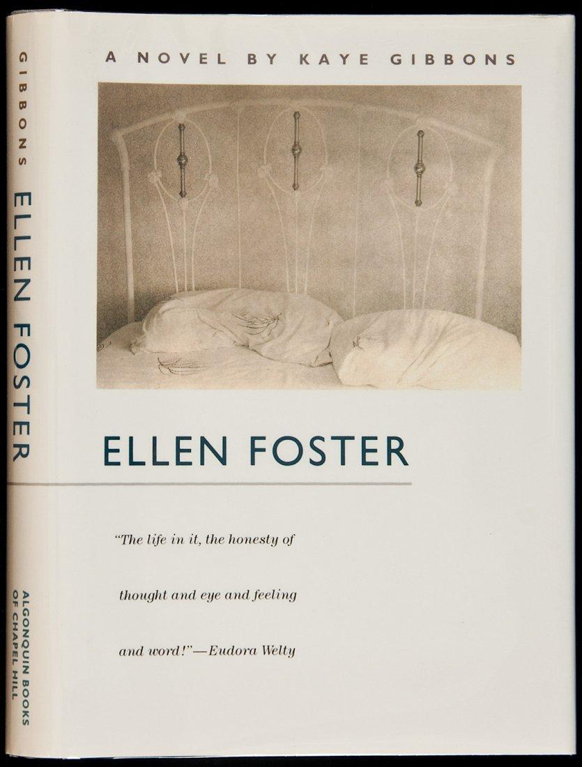 143: Kaye Gibbons Ellen Foster signed 1st edition