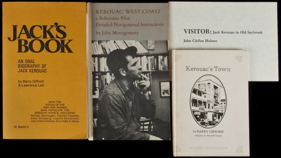 198: Four books and booklets about Jack Kerouac