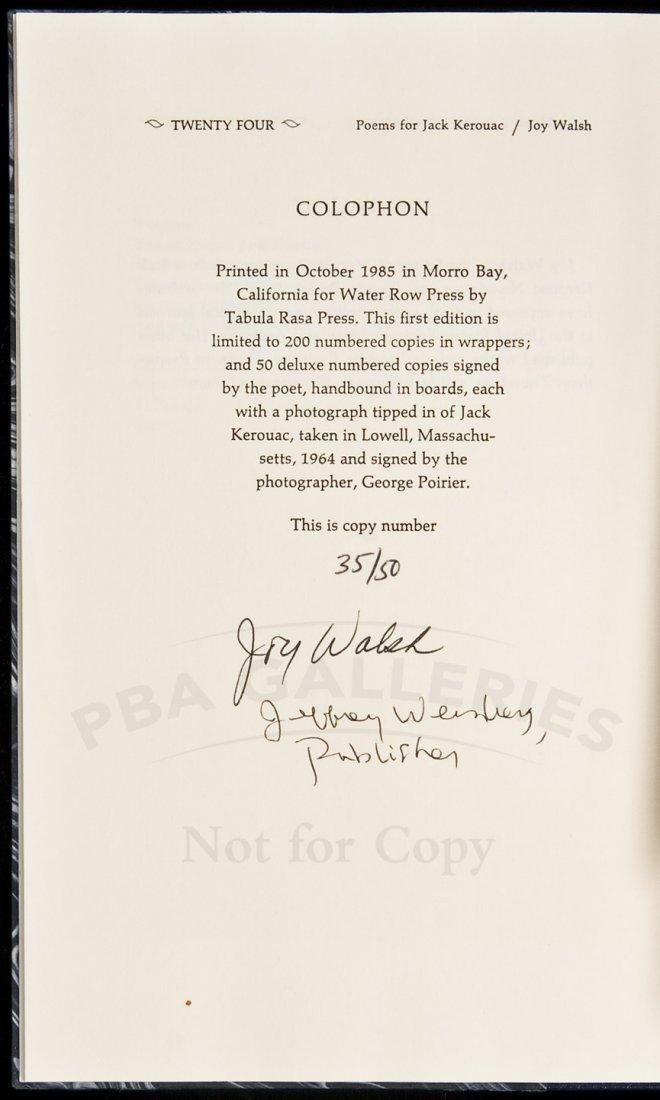 201: Poems for Jack Kerouac 1/50 deluxe copies