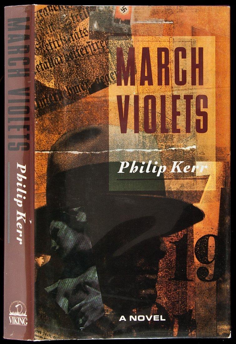 203: Philip Kerr's 1st book March Violets