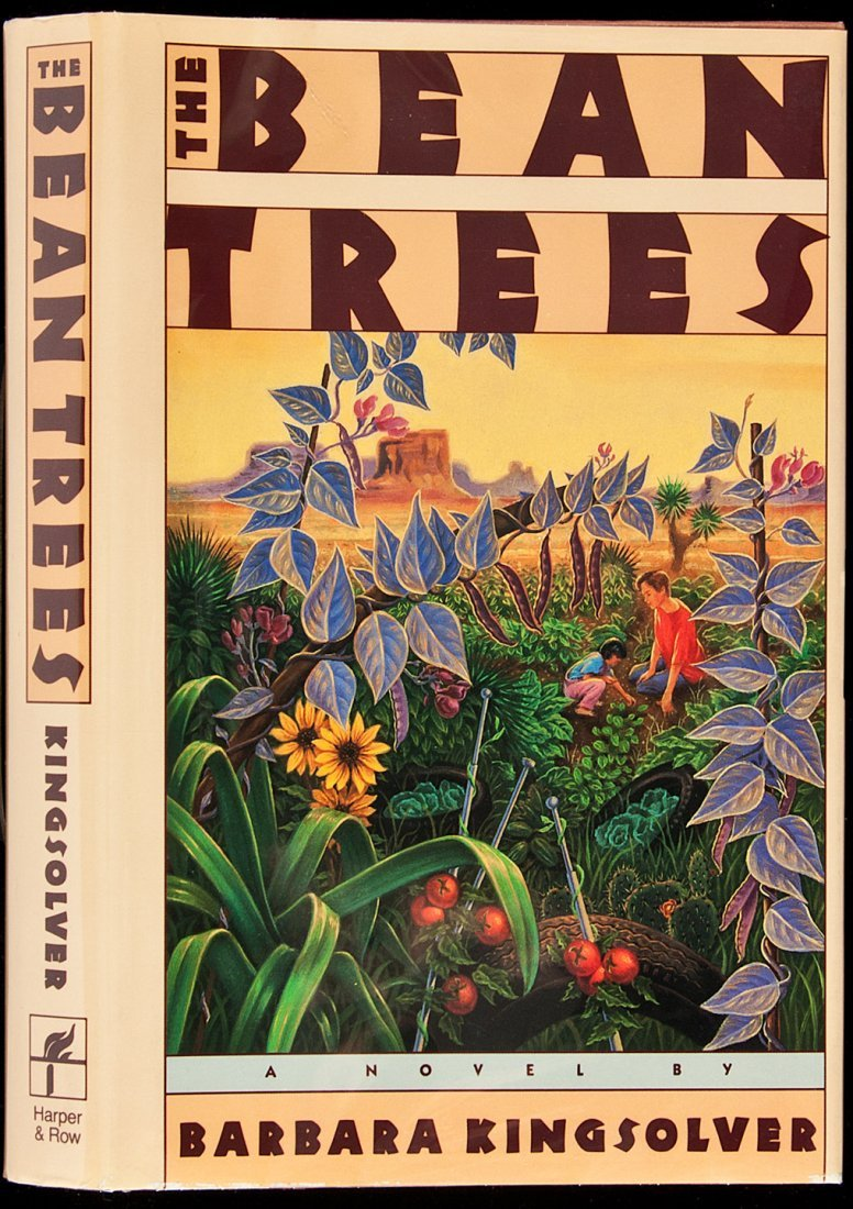 205: Kingsolver 1st book Bean Trees inscribed