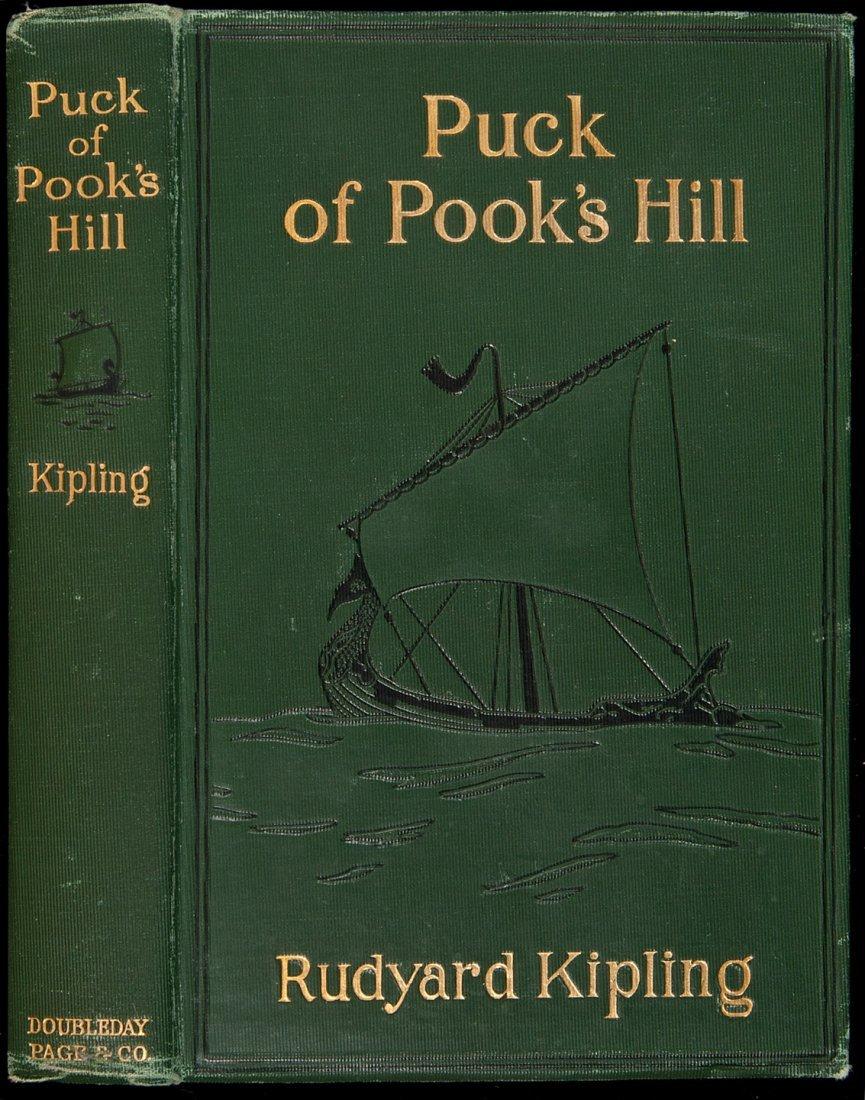 206: Rudyard Kipling Puck of Pook's Hill