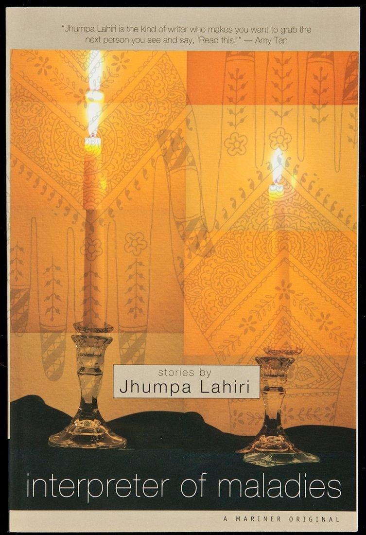 209: Lahiri Intrepreter of Maladies Pulitzer 1st book
