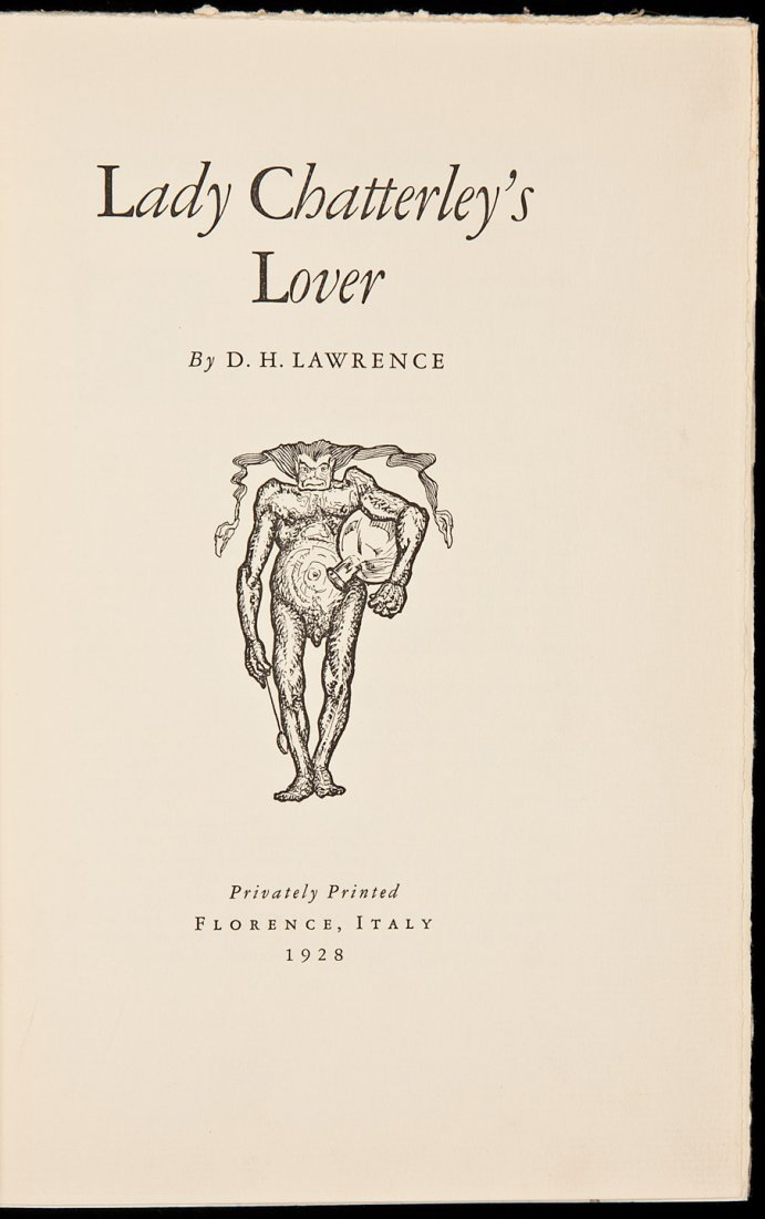 211: D.H. Lawrence Lady Chatterley's Lover