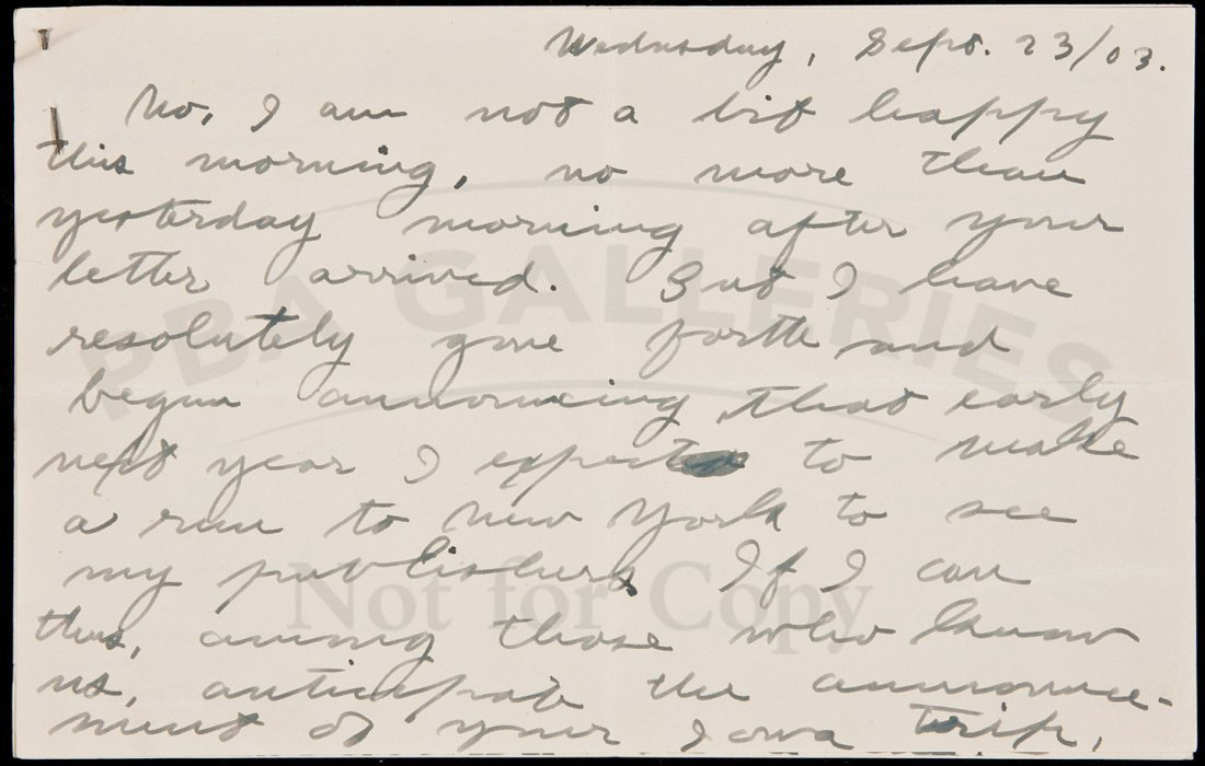 219: Letter from Jack London to future wife