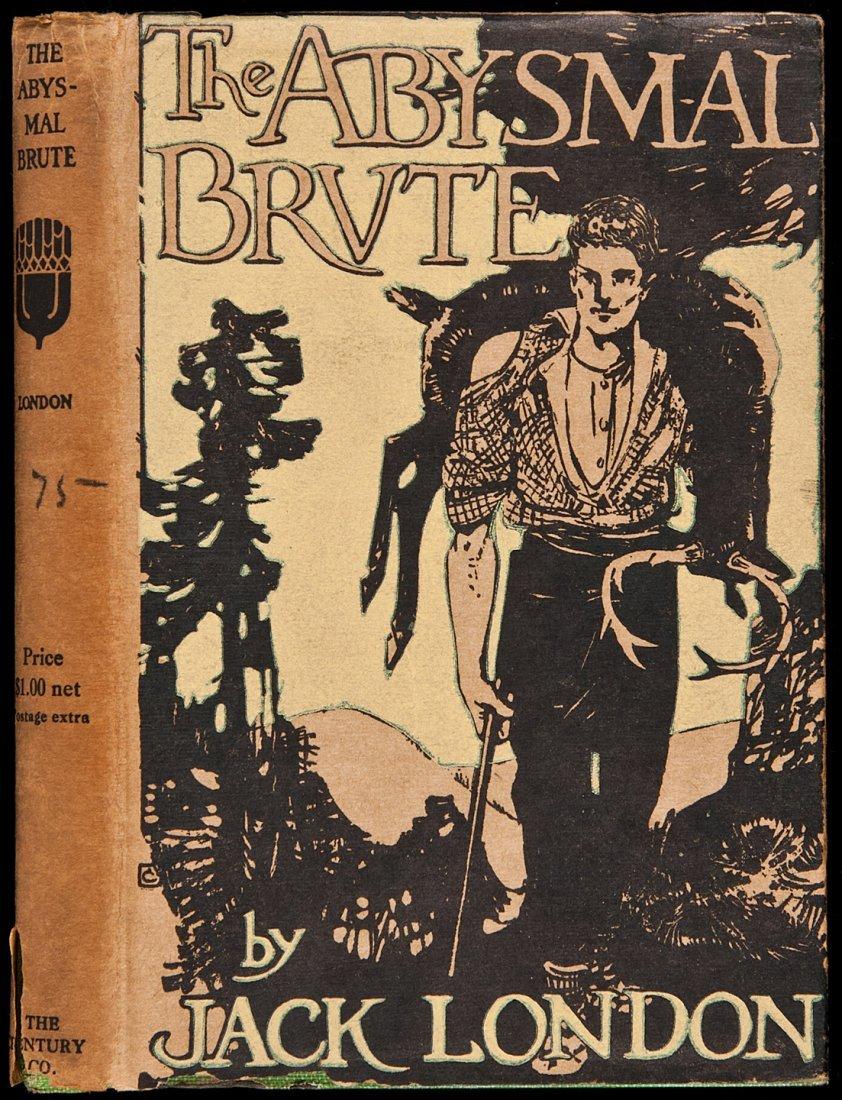 222: London Abysmal Brute 1st ed in jacket