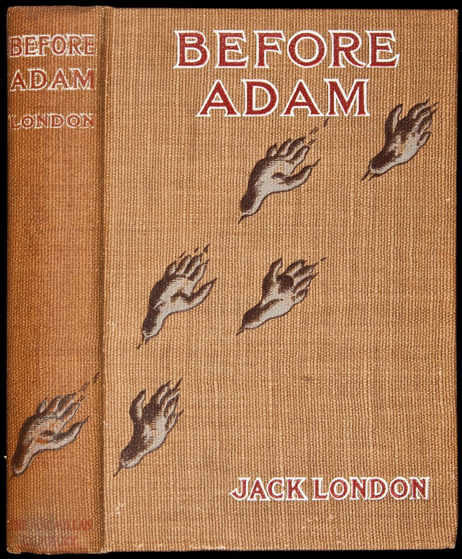 224: Jack London Before Adam First Edition 1907