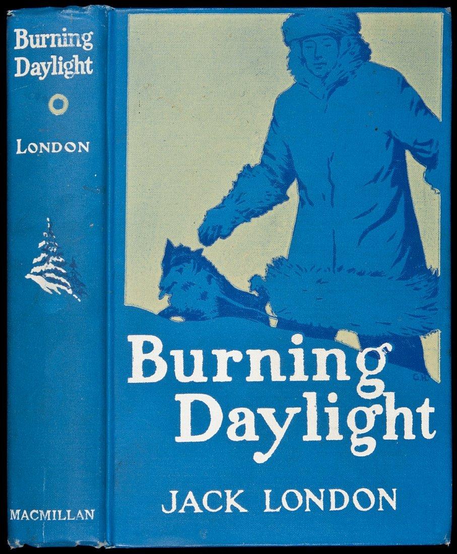 225: Jack London Burning Daylight First Edition