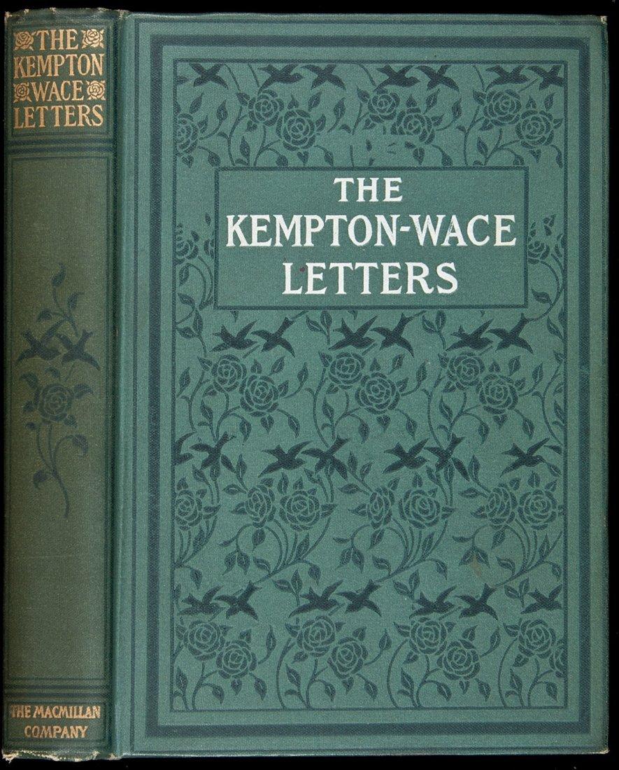 229: Jack London, Kempton-Wace Letters, 1st Ed. 1903