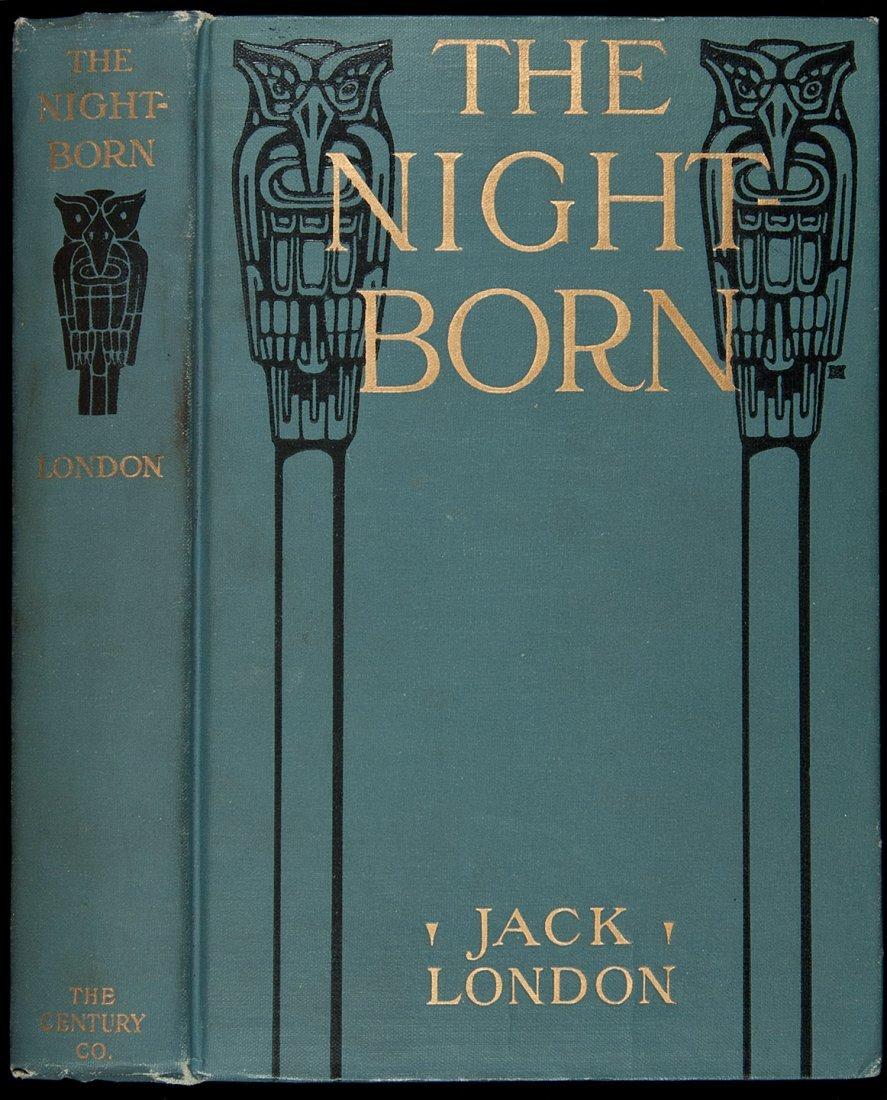 232: Jack London The Night Born First Edition