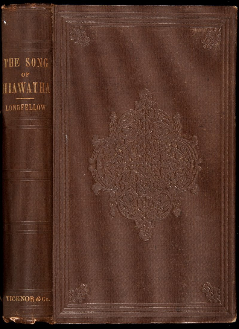 240: Longfellow's The Song of Hiawatha 1st Edn