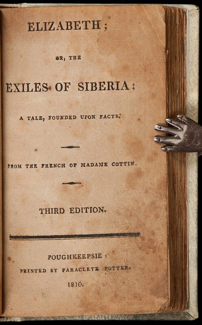 6: Elizabeth; Or, The Exiles of Siberia 1810