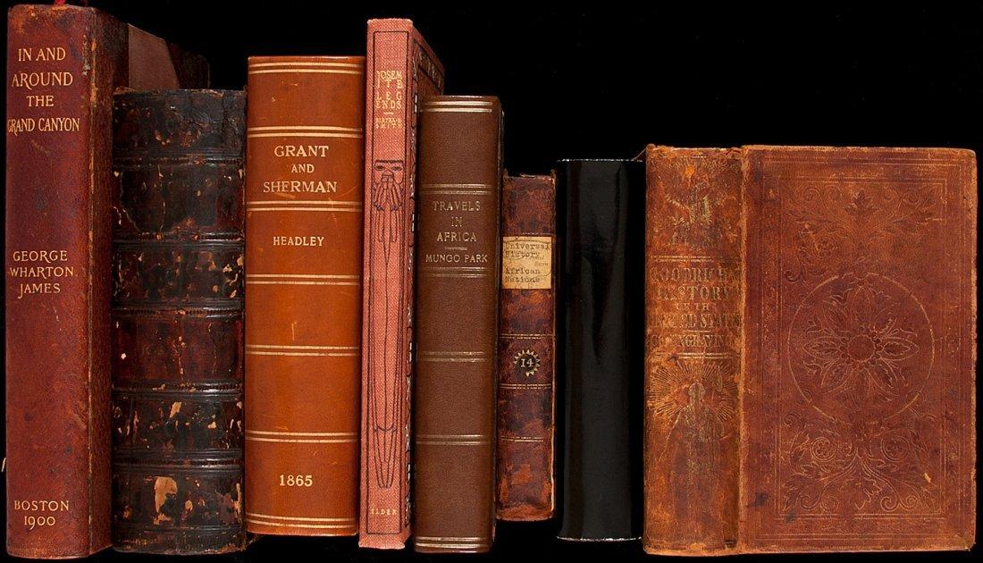 8: 8 vols of Americana & Travel & Exploration
