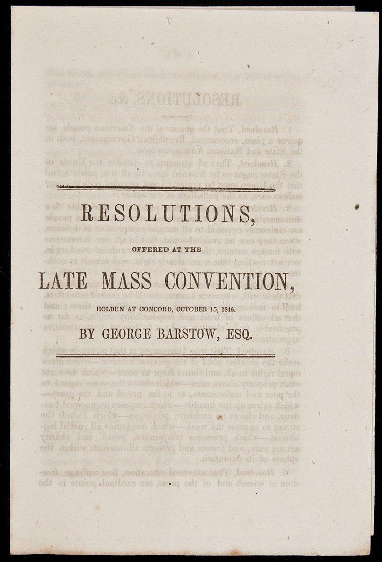 12: Pierce kills anti-slavery resolutions at Dem Con
