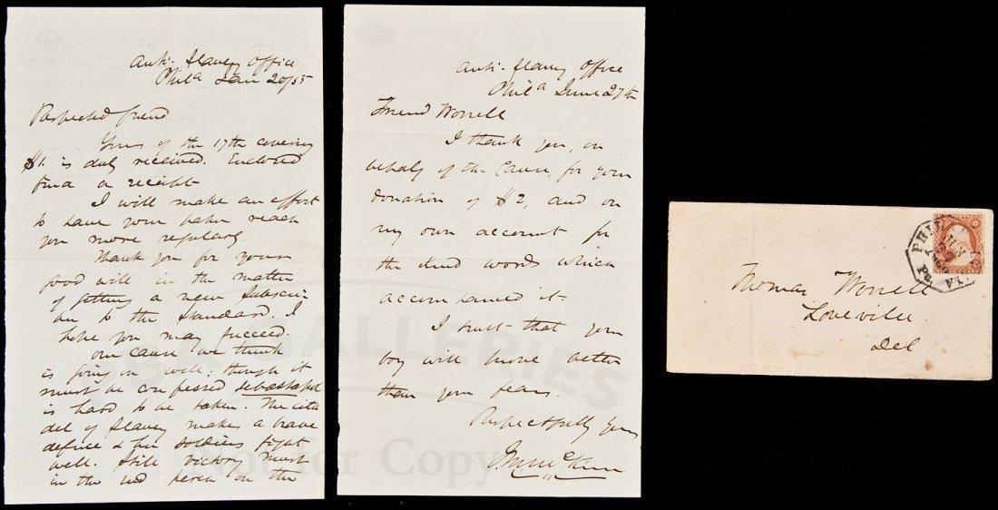 19: Letters from Philadelphia Anti-slavery leader