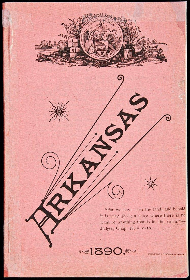 21: Arkansas promo pamphlet 1890