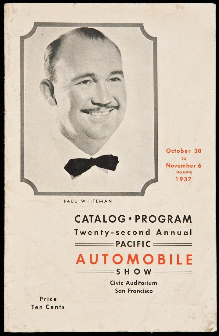 23: 22d Pacific Auto Show, SF 1937