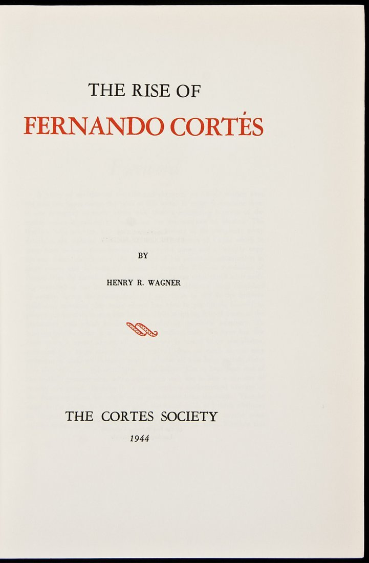 240: The Rise of Fernando Cortes 1 of 300 copies