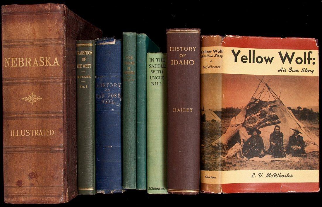 255: Twelve volumes of western Americana