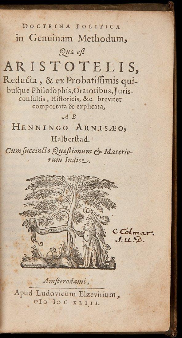 3: Arnisaeus' Doctrina politica 1643