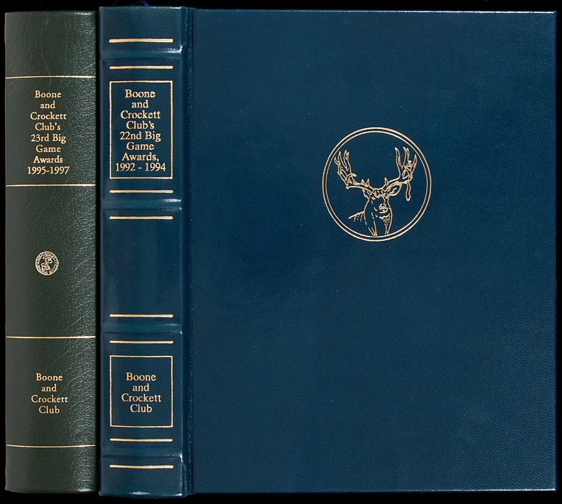 10: Two Boone and Crockett Club Awards books