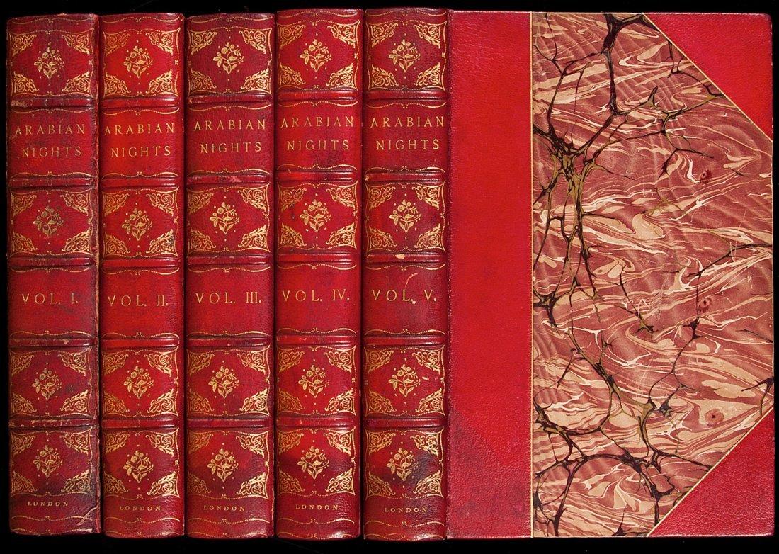 12: Arabian Nights Entertainments Library Edition