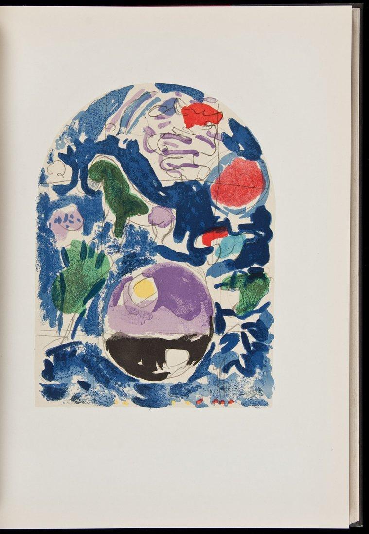 14: Marc Chagall Jerusalem Windows 2 Original Lithos