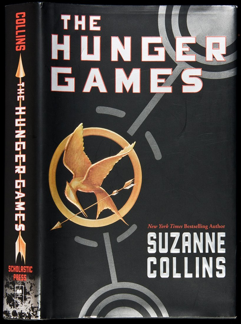 16: First edition of Hunger Games by Collins