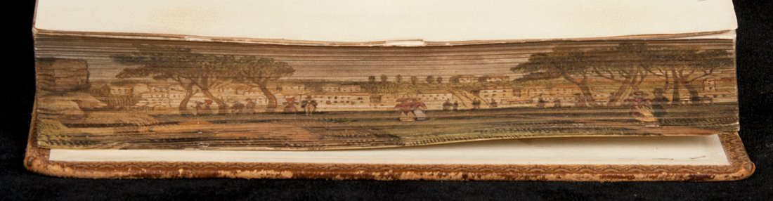 43: Tennyson Idylls of the King w/ Fore-edge painting