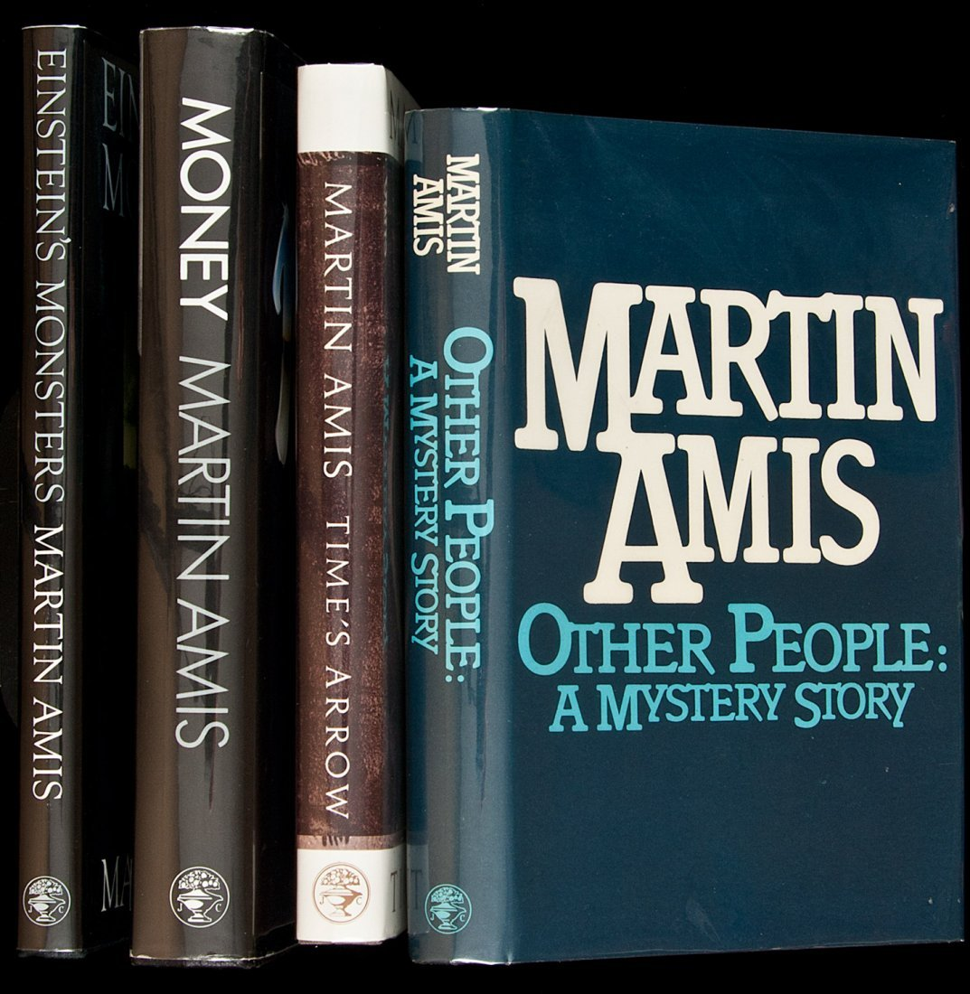 3: Four titles by Martin Amis, three of them signed