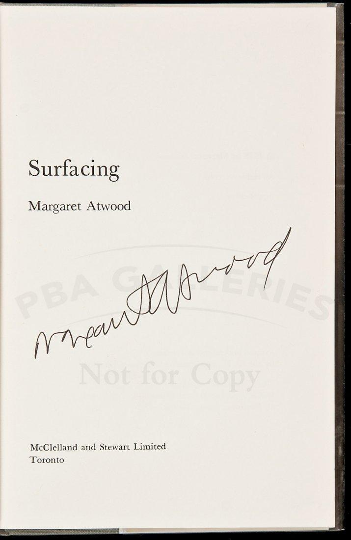 6: Margaret Atwood Surfacing signed