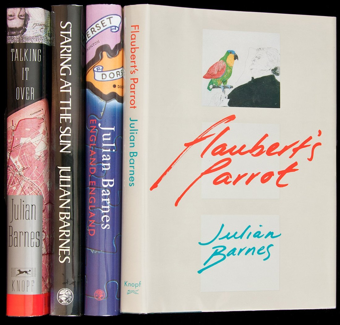 10: Four titles by Julian Barnes, two of them signed