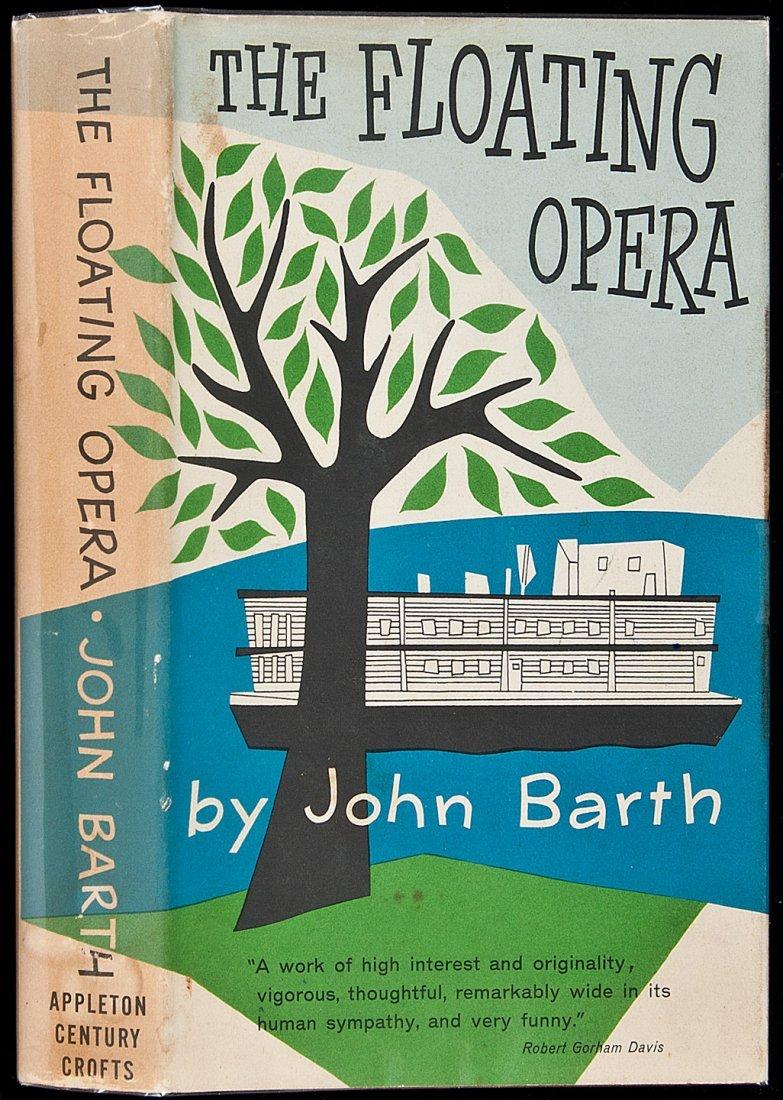 11: John Barth Floating Opera 1st book