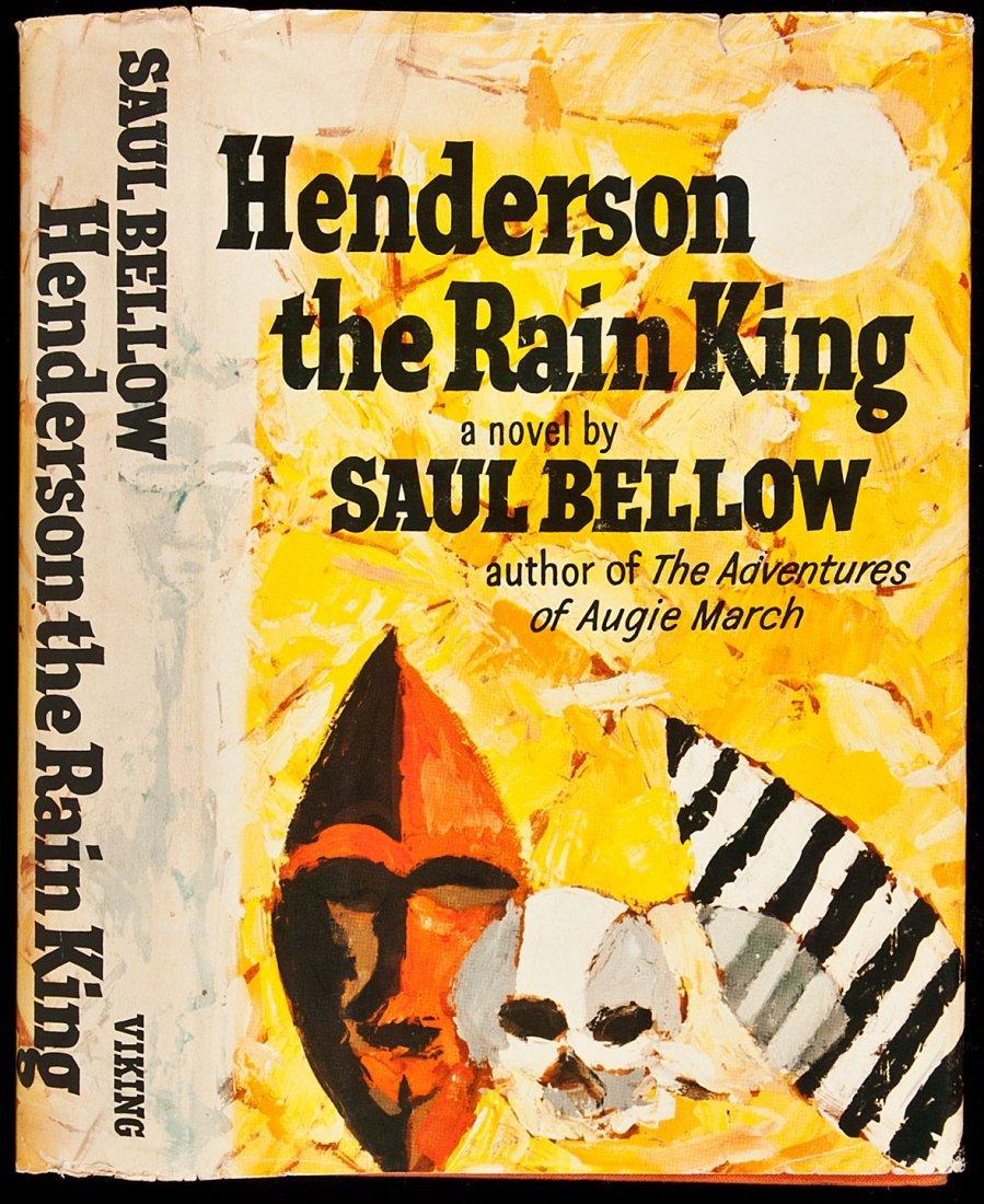 14: Henderson the Rain King by Saul Bellow 1st in dj