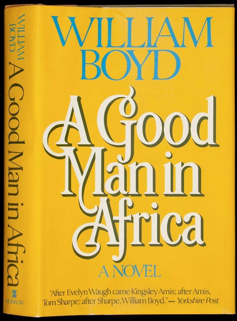 18: Boyd Good Man in Africa 1st U.S. edition