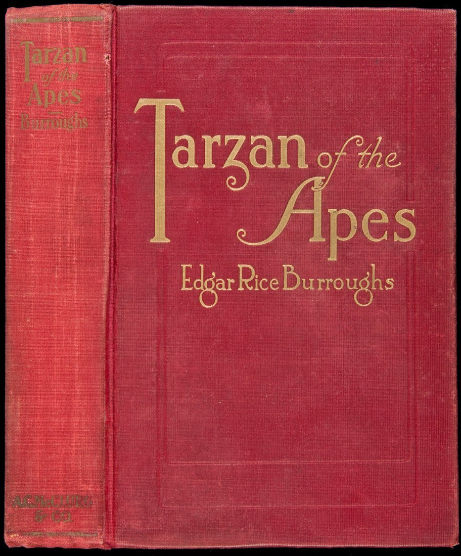 22: Tarzan of the Apes First Edition