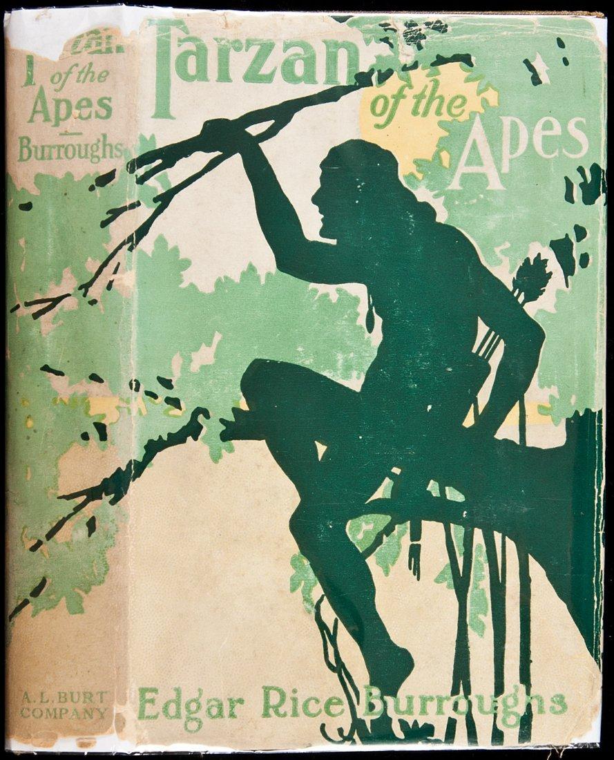 23: Tarzan of the Apes A.L. Burt reprint with DJ