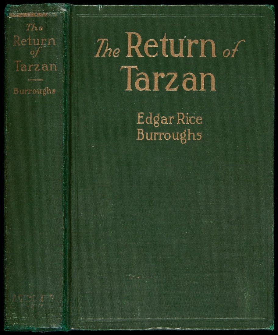 24: Edgar Rice Burroughs The Return of Tarzan