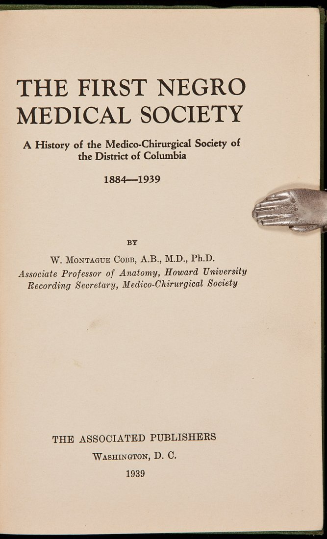 2: History of The First Negro Medical Society