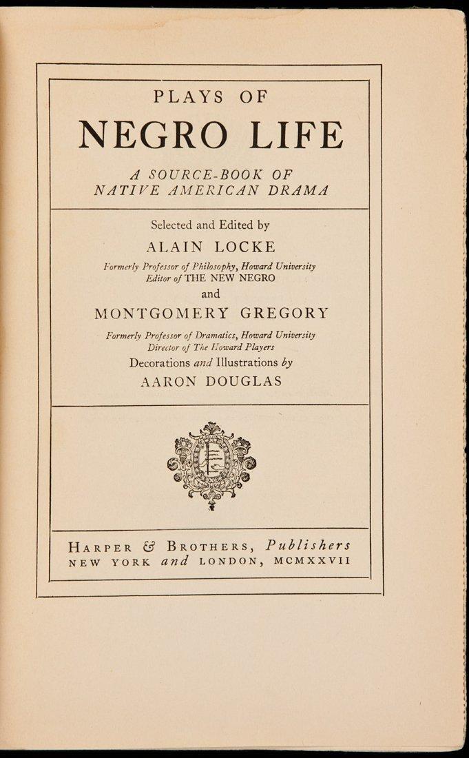5: Alain Locke Plays of Negro Life 1927