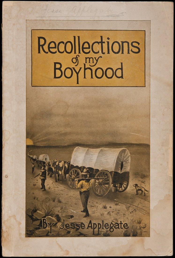 22: Applegate recalls 1843 Oregon trek in wrappers