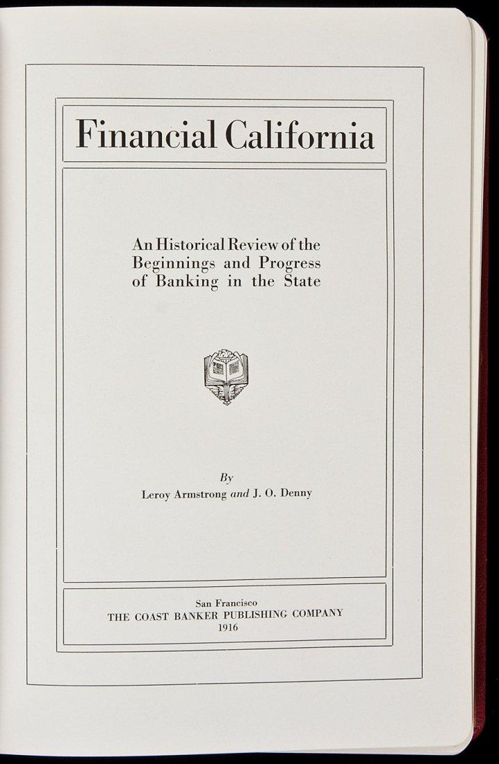 24: Rare work on Banking in California