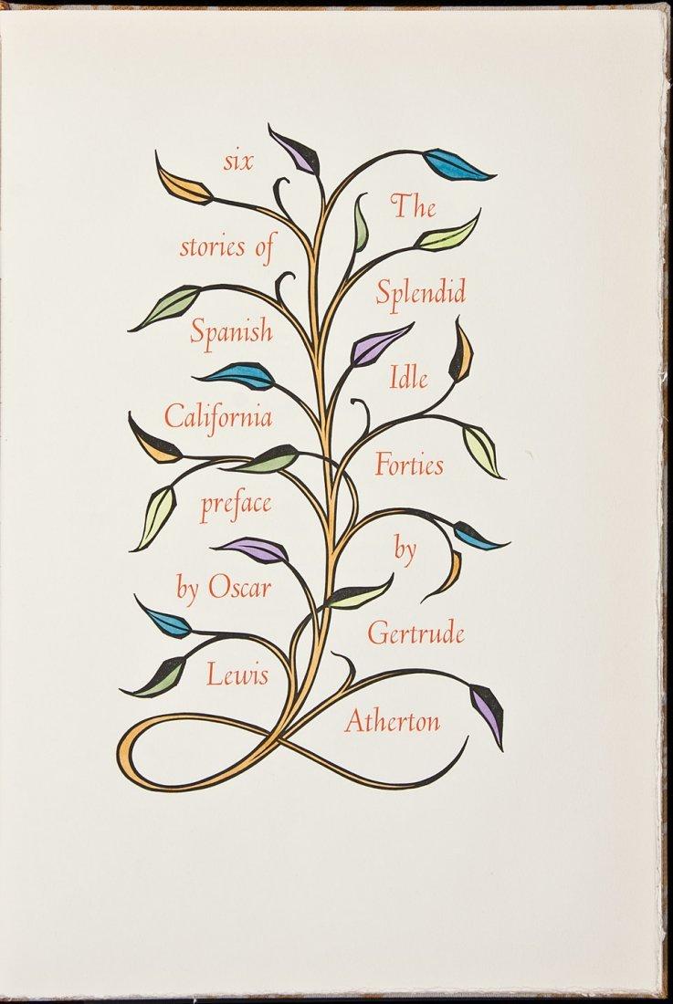 3: Allen Press, Splendid Idle Forties, 1/150 copies