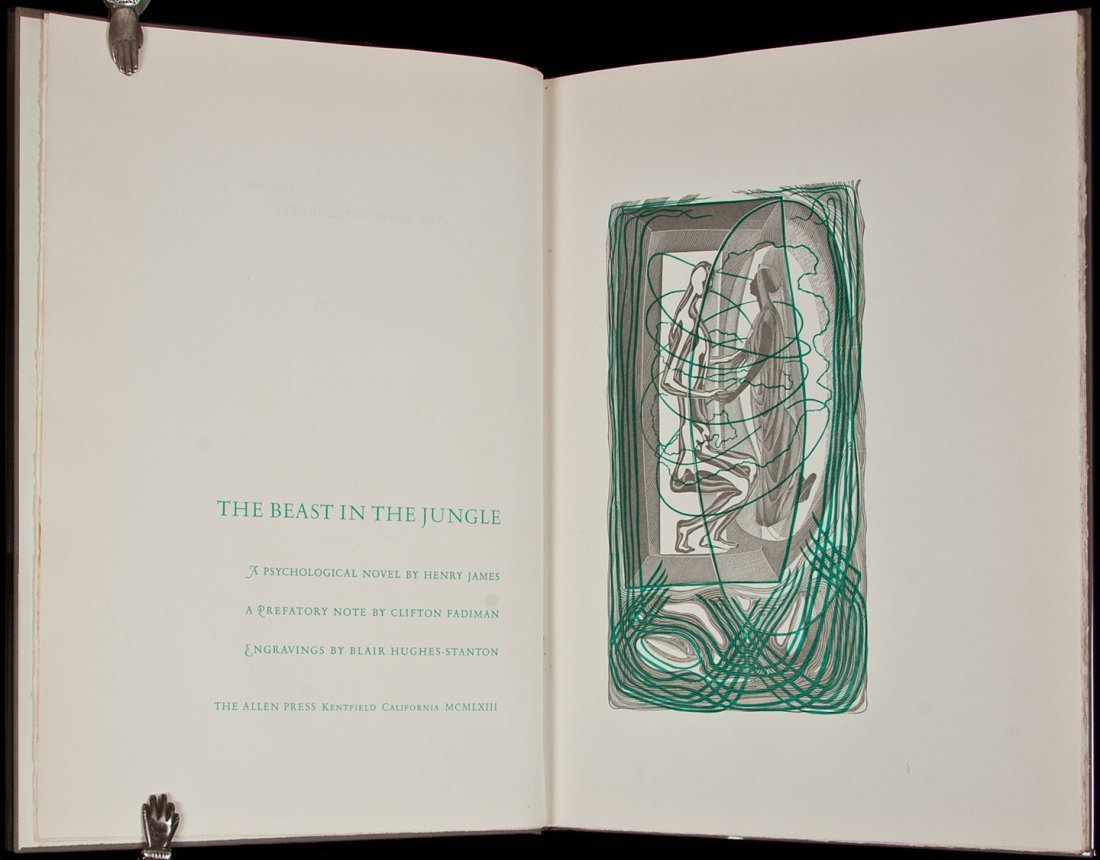 13: (Allen Press) James, Beast in the Jungle 1 of 130