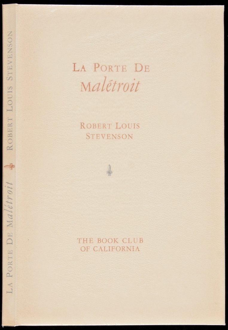 16: Allen Press La Porte de Maletroit