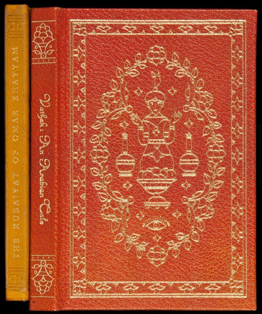 19: Rubaiyat and Vathek from LEC Valenti Angelo illus
